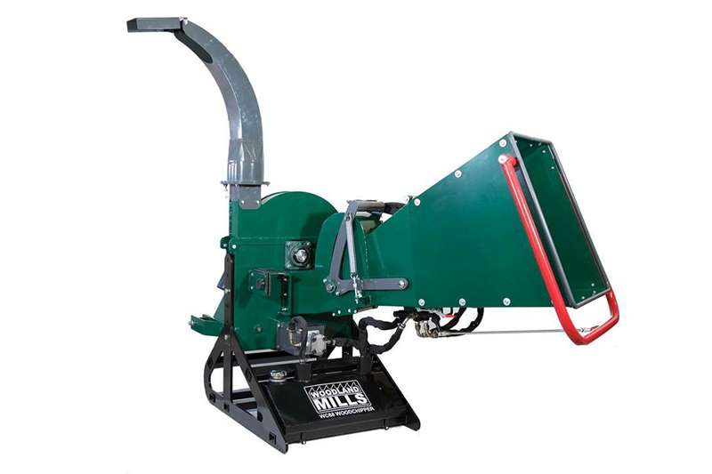 Other Wood Chipper WC 88 Can work easy with it.