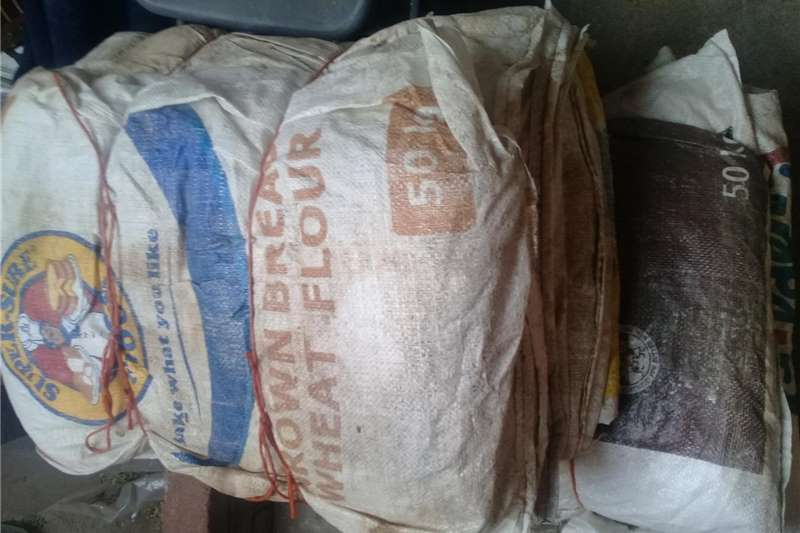 Pack house equipment Packaging material Empty 50kg flour bags