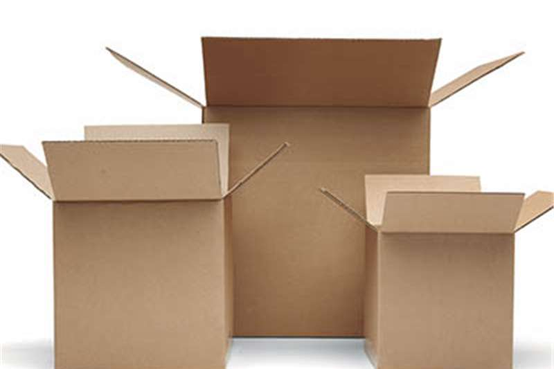 Pack house equipment Packaging material MOVING BOXES   WE DELIVER