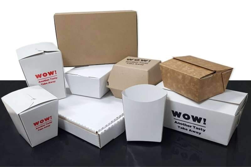 Pack house equipment Packaging material Take Away Packaging Durban 2017