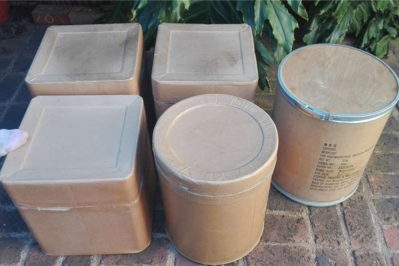 Pack house equipment Packaging material Thick cardboard containers, square or round for st