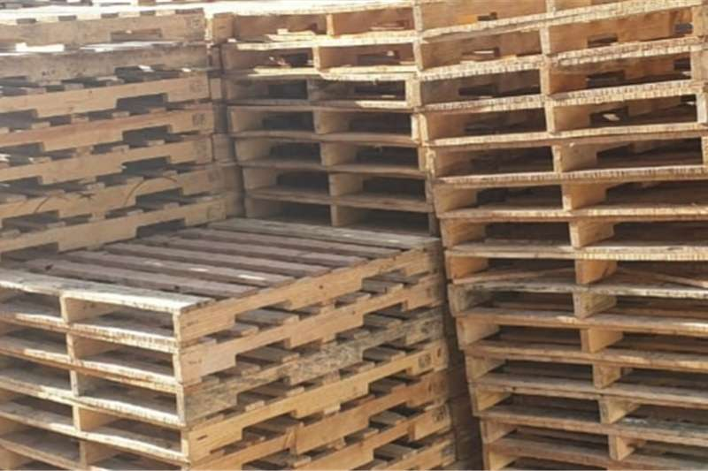 Pack house equipment Pallets We Sell Second Hand Pallets