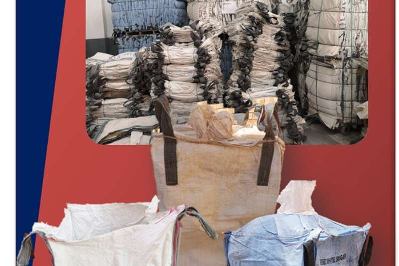 Packhouse equipment Packaging materials 1 Ton Bulk Bags For Sale (Used)