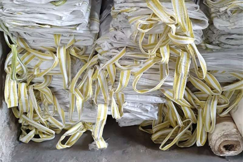 Packaging materials I have good used.....1...1.5 and 2 ton bags for sa Packhouse equipment