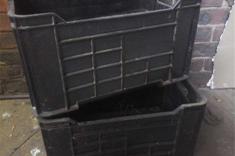 Packhouse equipment Packaging materials Plastic Crates