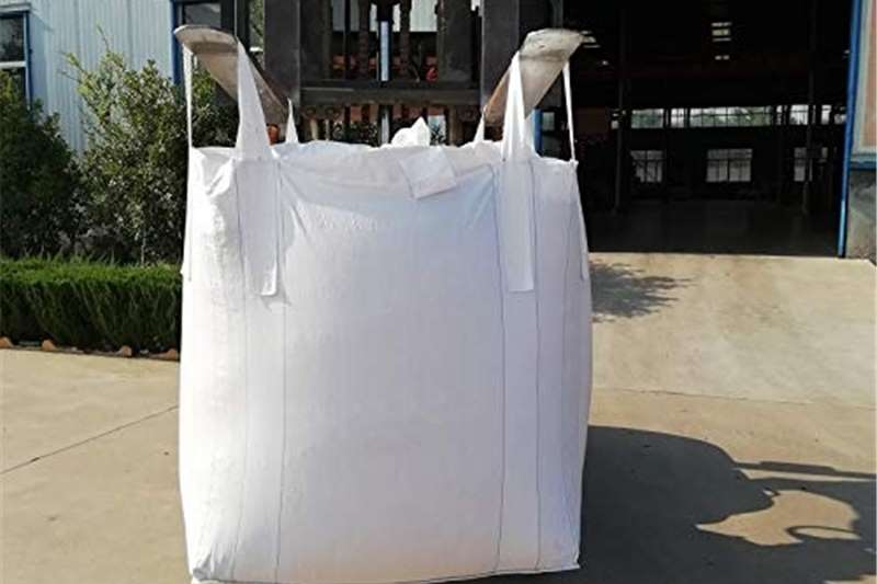 Packaging materials Used good condition 1 ton Bulk bags. Packhouse equipment