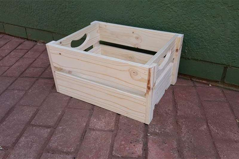 Packaging materials Wooden Crates Packhouse equipment