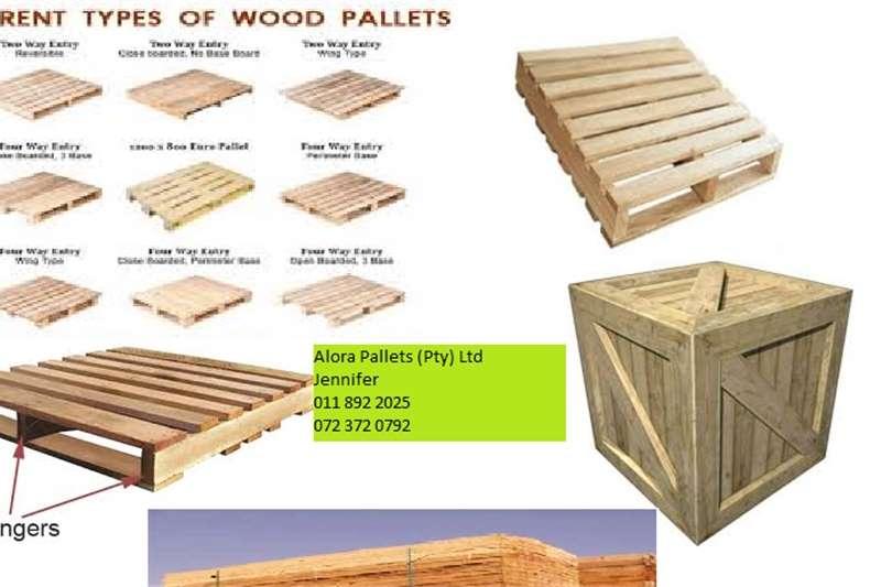 Pallets Alora Pallets (Pty ) Ltd Packhouse equipment