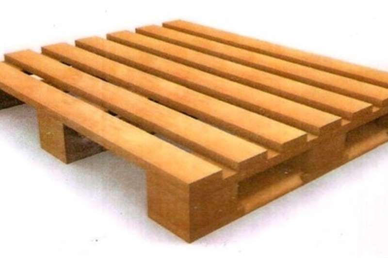 Pallets Wooden pallets    TRUCK LOGISTIXS AND  WAREHOUSES Packhouse equipment