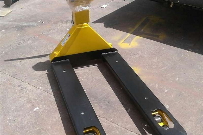Weighing equipment Pallet jack With Scale Packhouse equipment