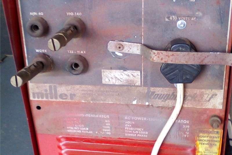 Petrol generator Afrox miller petrol gen and welder