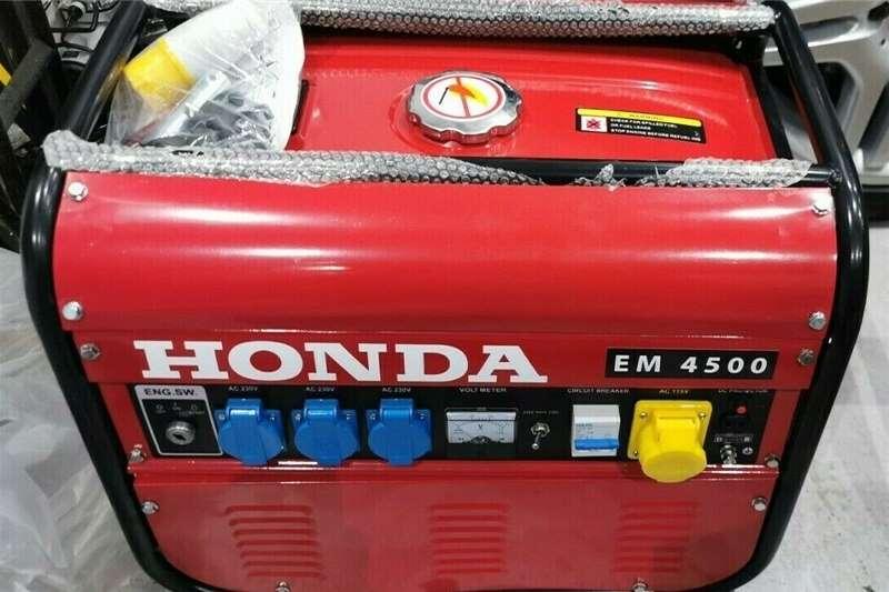 Petrol generator Brand New Honda Em4500 4.5Kw4.5Kva Specialist Fram