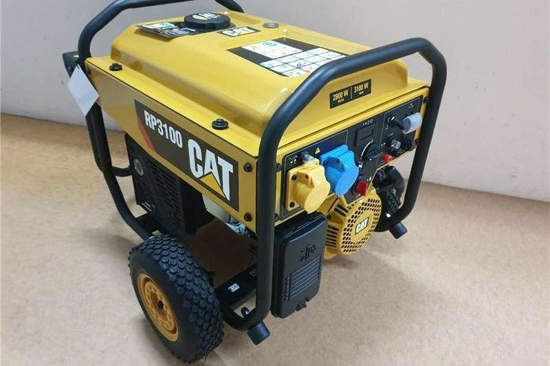 Petrol generator CAT RP3100 Petrol Four Stroke Generator Brand New