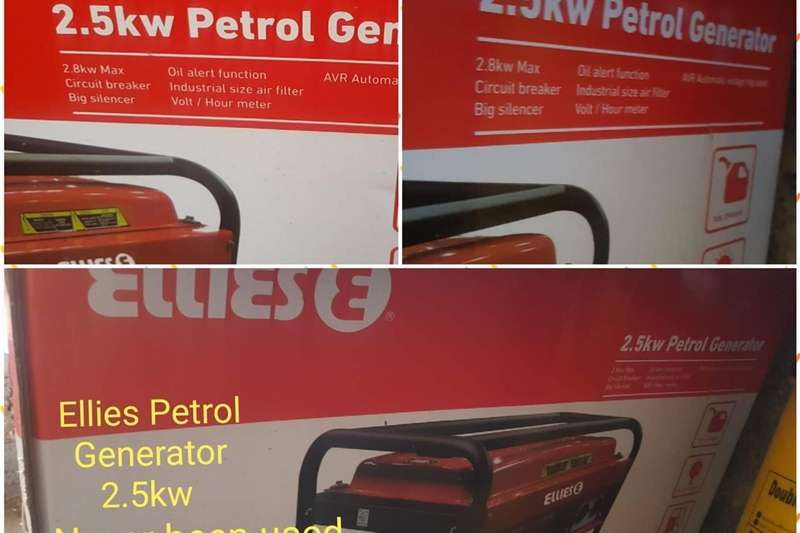 Petrol generator Equipment