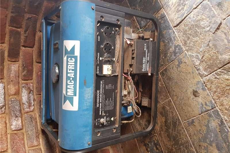 Petrol generator MAC AFRIC GENERATOR 5.5 KVA