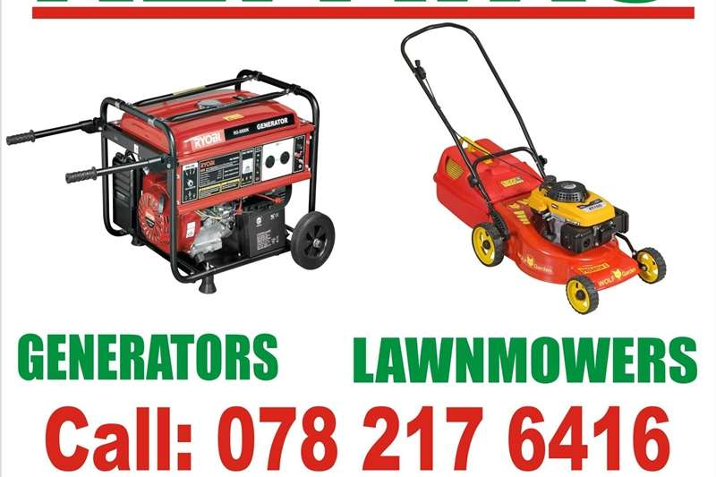 Petrol generator WE BUY BROKEN GENERATORS