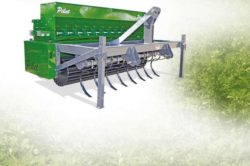 Piket Implements Machinery Farming 1.8M FINE SEED PLANTER 2019
