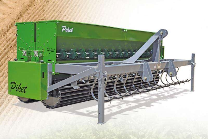 Piket Implements Farming 2.3M FINE SEED PLANTER Machinery
