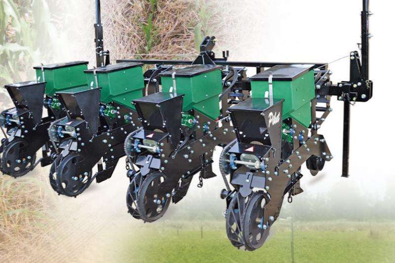 Piket Implements Machinery Farming ECONOMY NO TILL MAIZE PLANTER 4 2019
