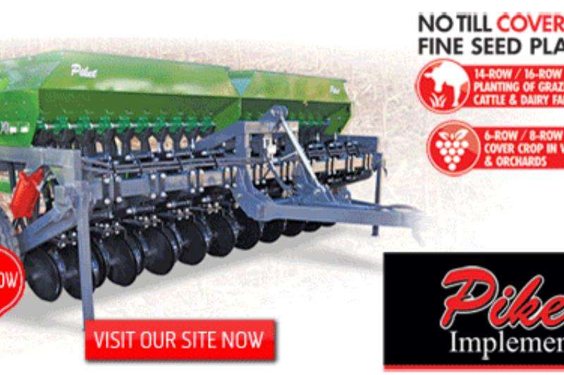 Piket Implements Machinery Farming NO TILL COVER CROPFINE SEED PLANTER 20 2019