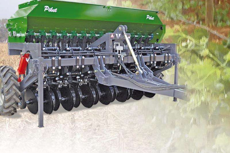 Piket Implements Machinery Farming NO TILL COVER CROPFINE SEED PLANTER 2019
