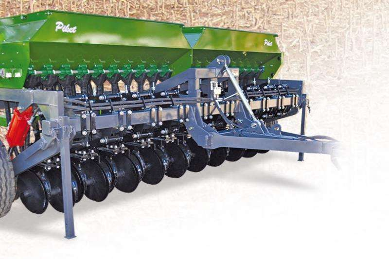 Piket Implements Machinery Farming NO TILL COVER CROPFINE SEED PLANTER 20ROW 2019