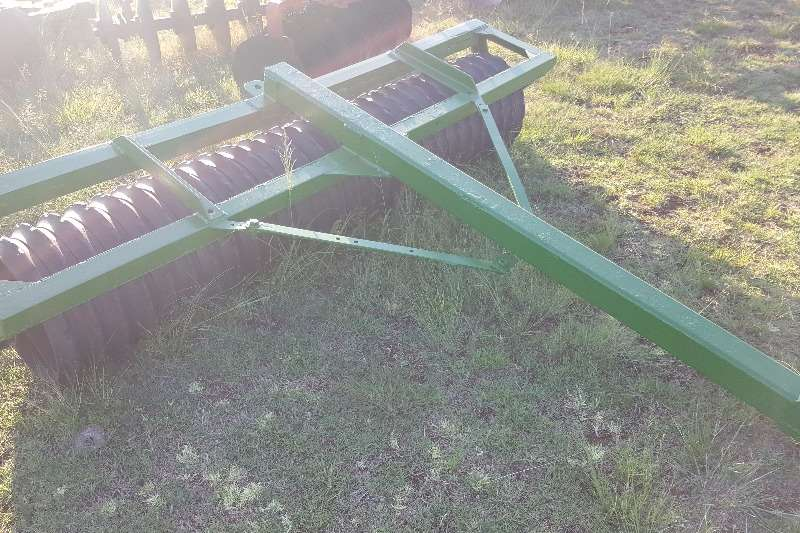Planting and Seeding cambridge tef roller