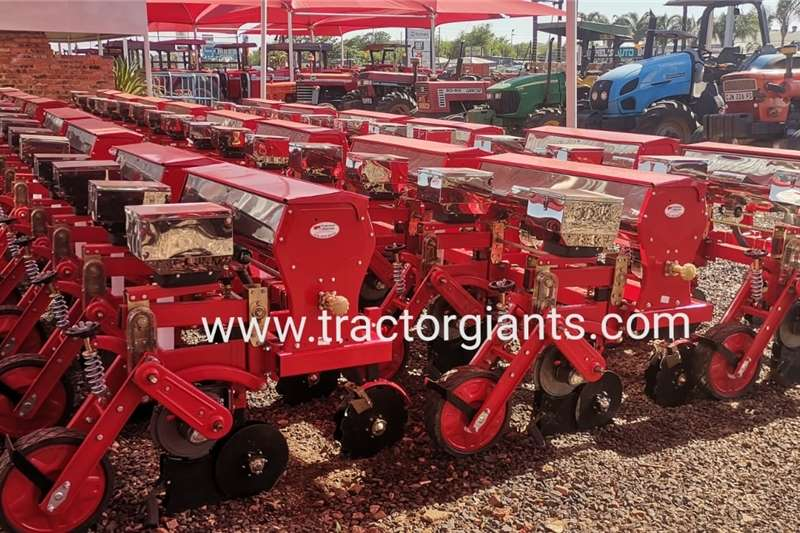 Row planters 2 Row Maize and Bean Floating Planters Planting and seeding equipment