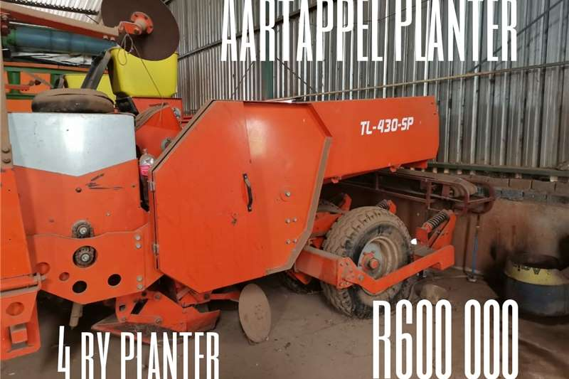 Row planters Turner 4ry Aartappel Planter Planting and seeding equipment