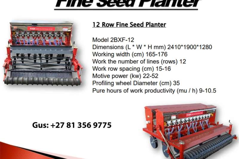 Seeders Fine Seed Planter Planting and seeding equipment