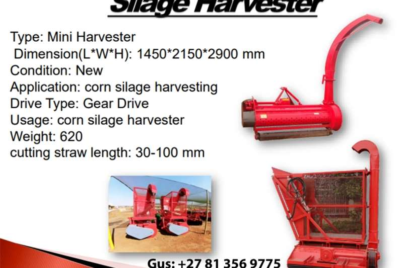 Seeders Silage Harvester Planting and seeding equipment