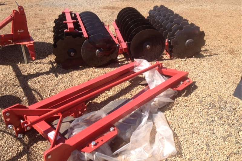 Ploughs Disc harrows Red JBH 16 Disc Offset Harrow