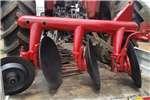 Disc ploughs Ernest H Johnson 3 Disc Pipe Plough / 3 Skottel Py Ploughs