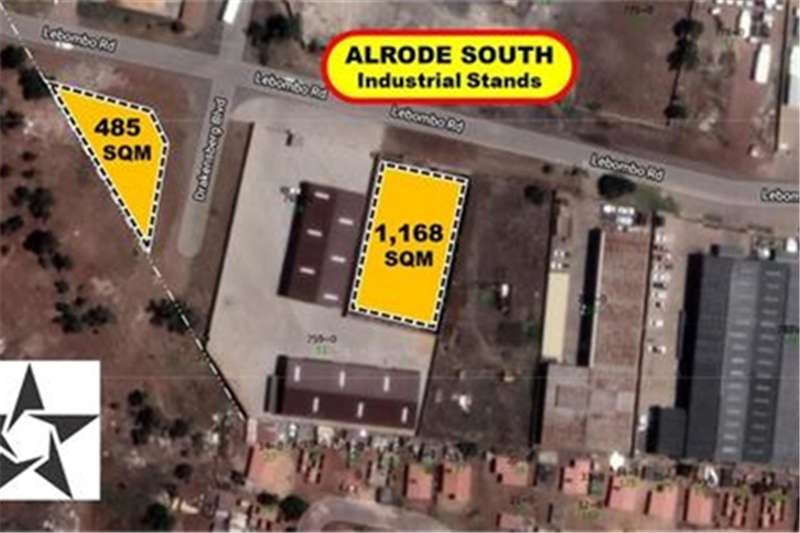 Property Vacant land 1,168 SQM WALLED & GATED STAND (@ R 1,155/sqm)