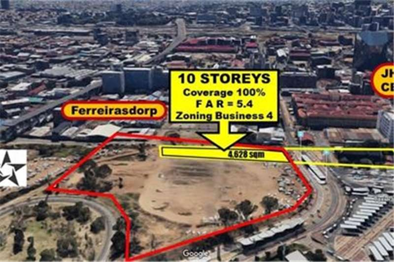 Property Vacant land 10 STOREY APPROVAL (FROM R 1,550/Bulk Floor m2)