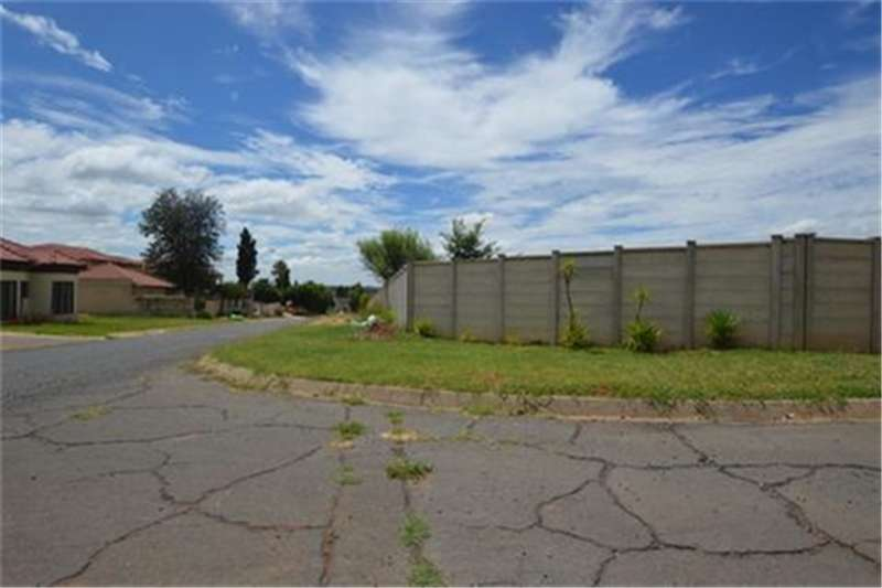 Vacant land 4193sq Vacant land Zoned Res 2 in SE4 Vanderbijlpa Property