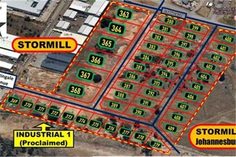 Property Vacant land 47 NEW STANDS (Proclaimed) FOR SALE (FROM R850/SQM