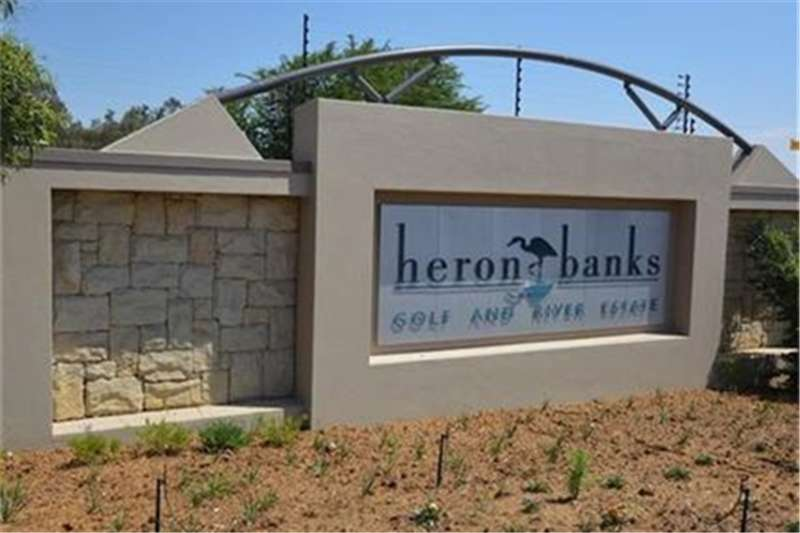 Vacant land A 950 sq stand for sale at Heron Banks Property