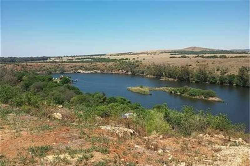 Vacant land BEST VIEWS OF THE VAAL RIVER! Property