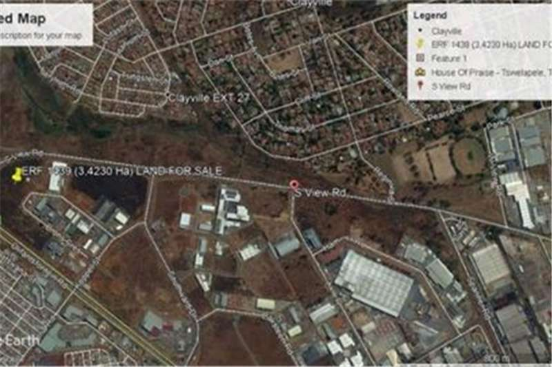 Property Vacant land Vacant Land Commercial For Sale in CLAYVILLE