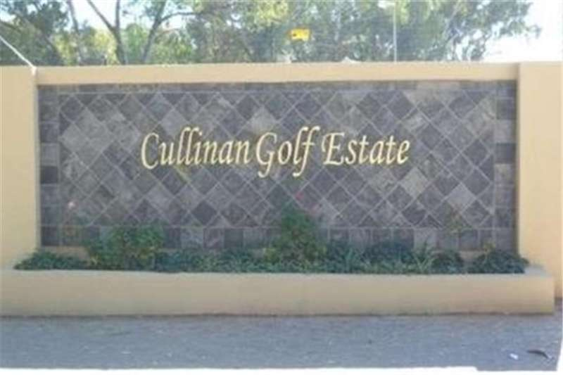 Property Vacant land VACANT LAND IN THE BEAUTIFUL CULLINAN GOLF ESTATE