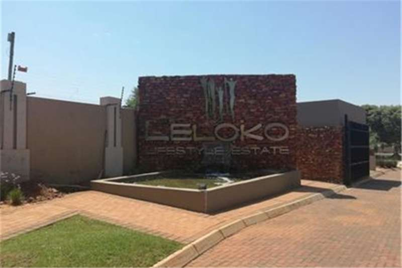 Property Vacant land Vacant Land Residential For Sale in Leloko Lifesty
