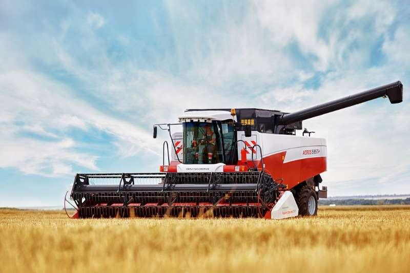 Rostselmash Combine harvesters and harvesting equipment Grain harvesters ACROS 595 PLUS 2020