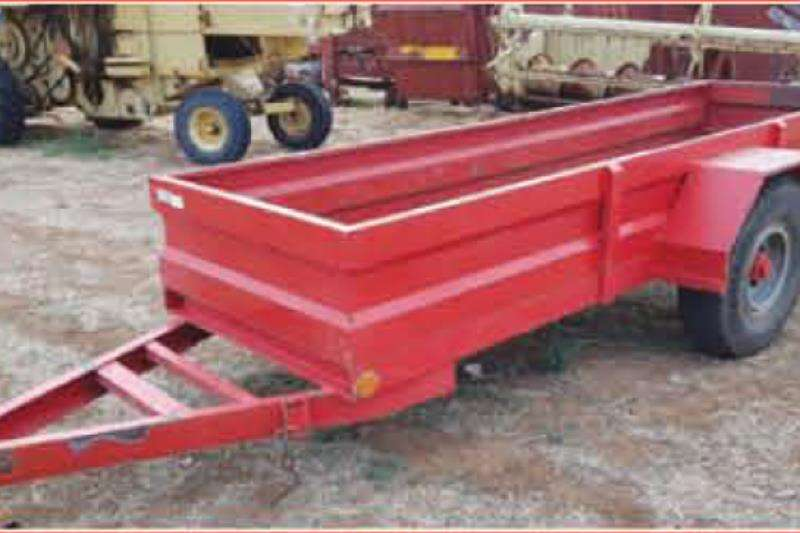 RY Agri Agricultural trailers Small trailers Wa met 5 Ton as