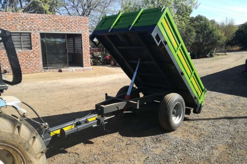 RY Agri Tipper trailers New 2 Ton Tip Trailer Agricultural trailers