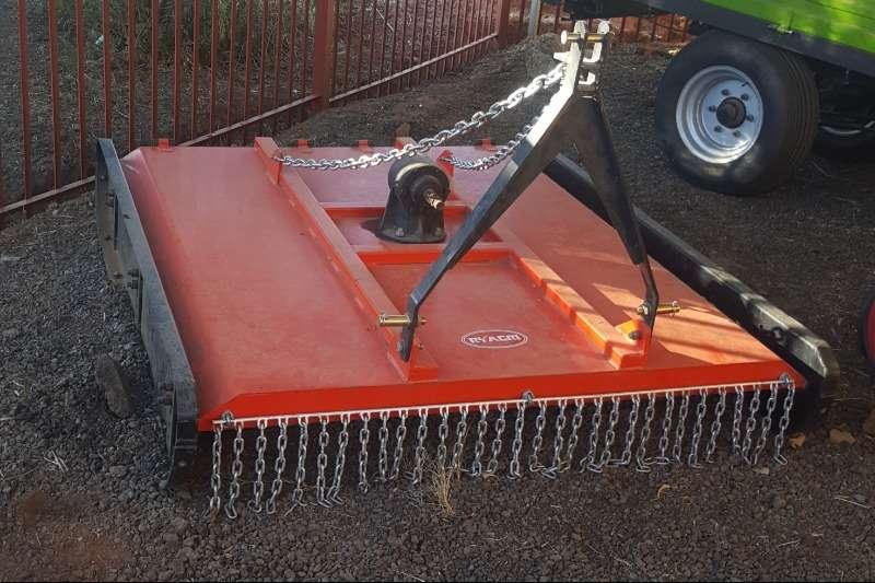 RY Agri Haymaking and silage Bale shredders New 1.5m Slasher 2019