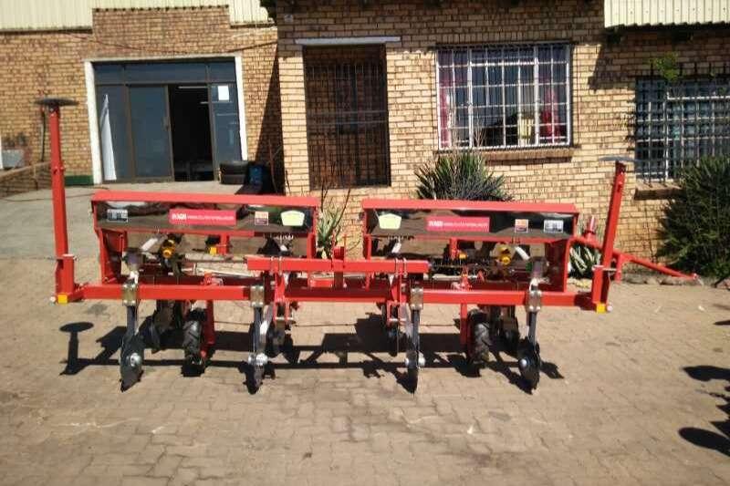 RY Agri Row units FY 2, FY 4, FY4 H Planting and seeding