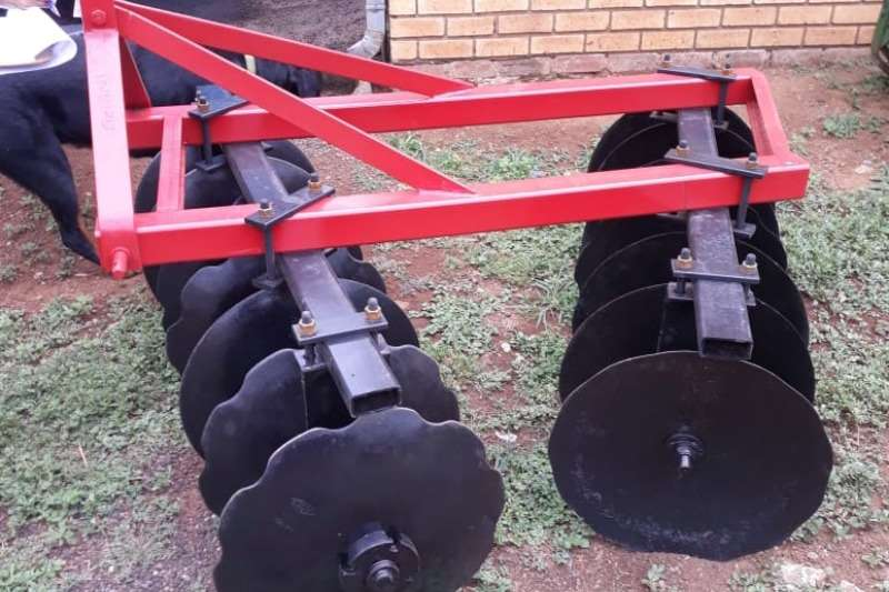RY Agri Ploughs 12 SCAR DISC OFFSET  PLOUGH