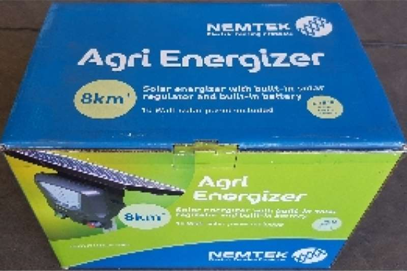 Energizers Solar Agricultural Electric Fence Energizers Security and fencing