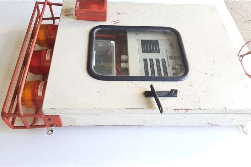 Fire Control Panel Unit Security and fencing